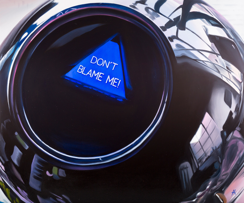 Defence of the Inanimate – Magic 8 Ball