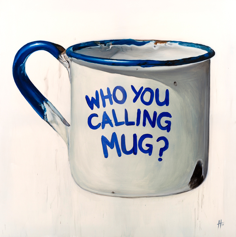 Defence of the Inanimate – Tin Mug