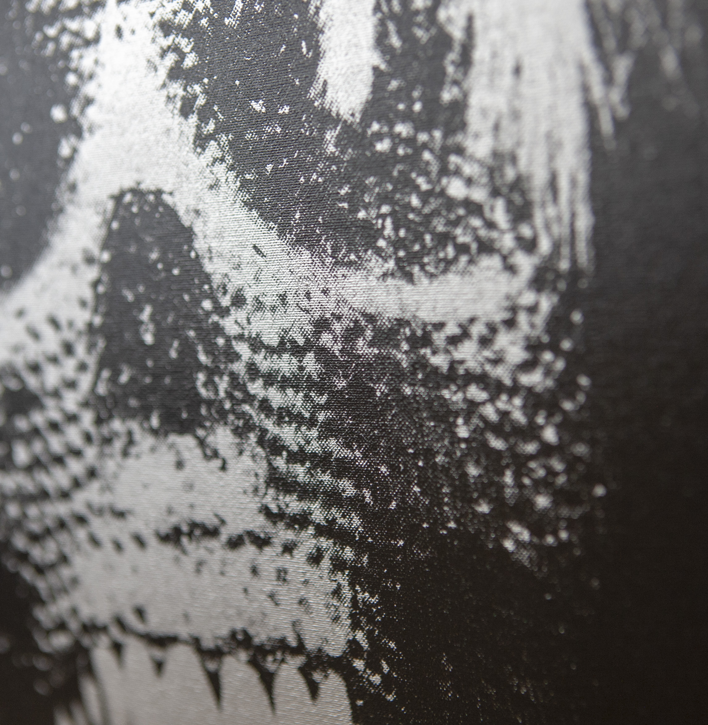 For the Love of Pop – Silver (detail)